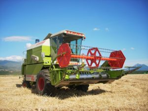 Macchine agricole - Trebbiatrice
