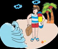 Come prepararsi al trauma del rientro dalle vacanze