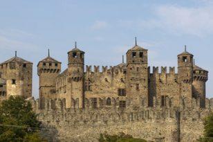 3 castelli della Val D'Aosta